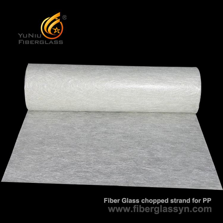 fabricante tajado de la fibra de vidrio de la estera del hilo - fibra de vidrio de YuNiu