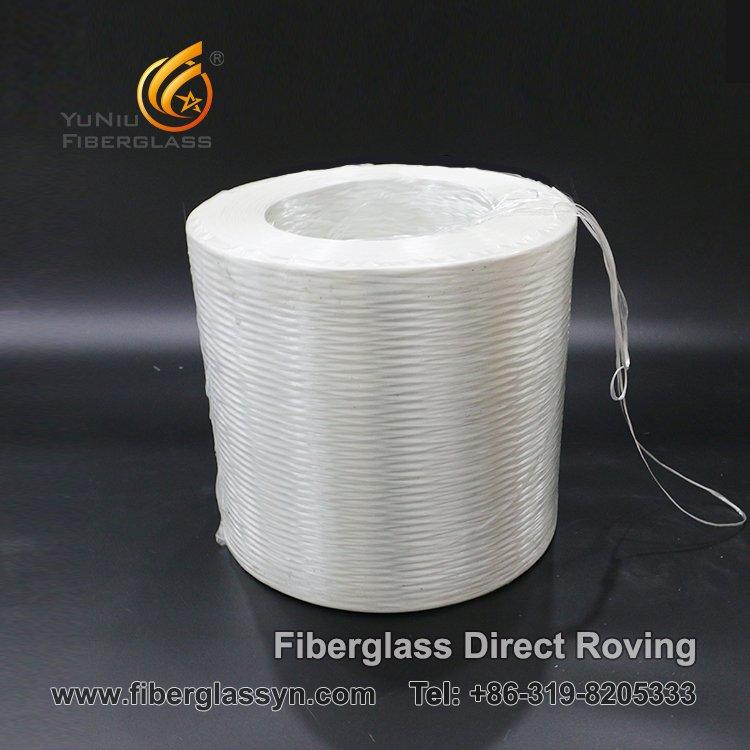 Vagueación directa de la fibra de vidrio para la extrusión por estirado, el filamento y tejer